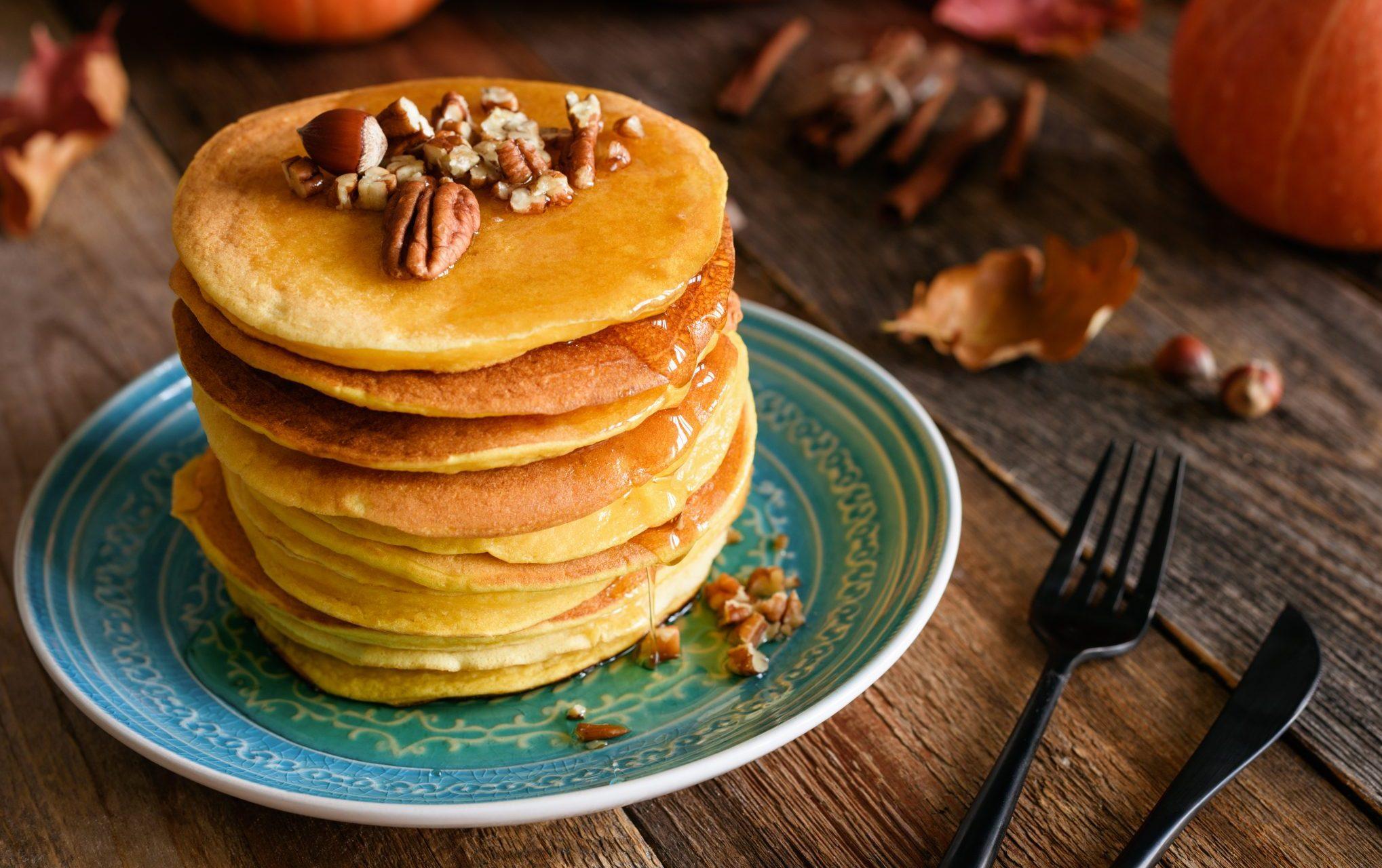 nut pancakes