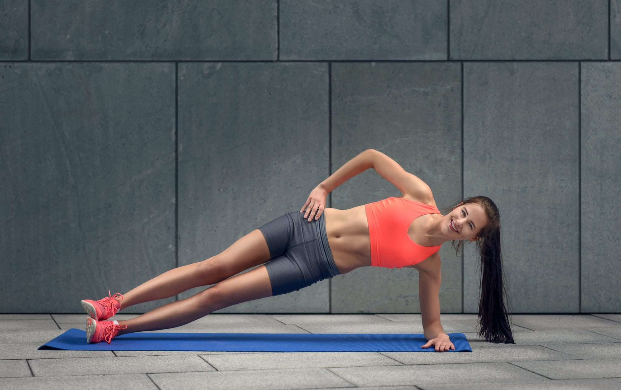 outdoor side plank