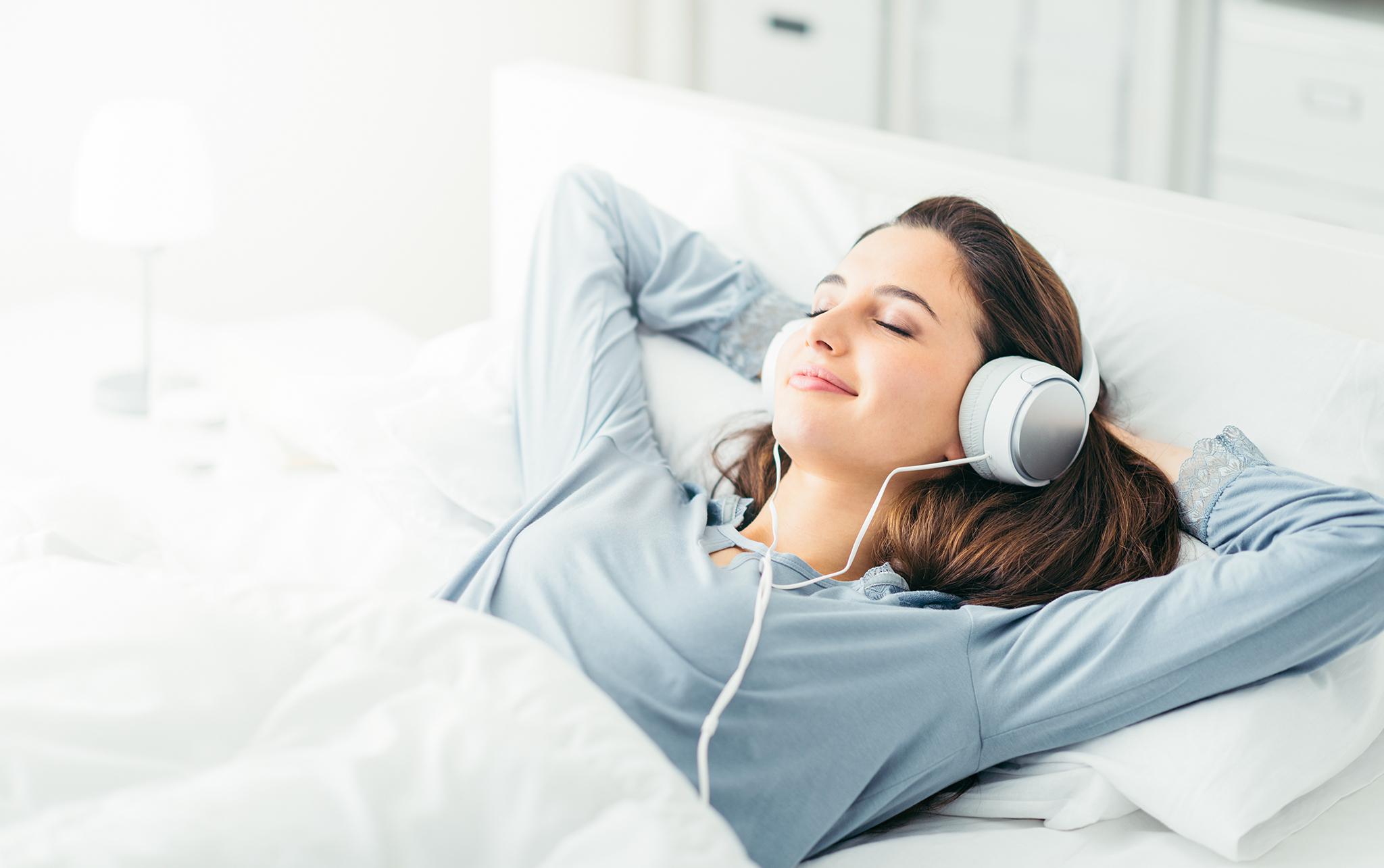 listening to meditation