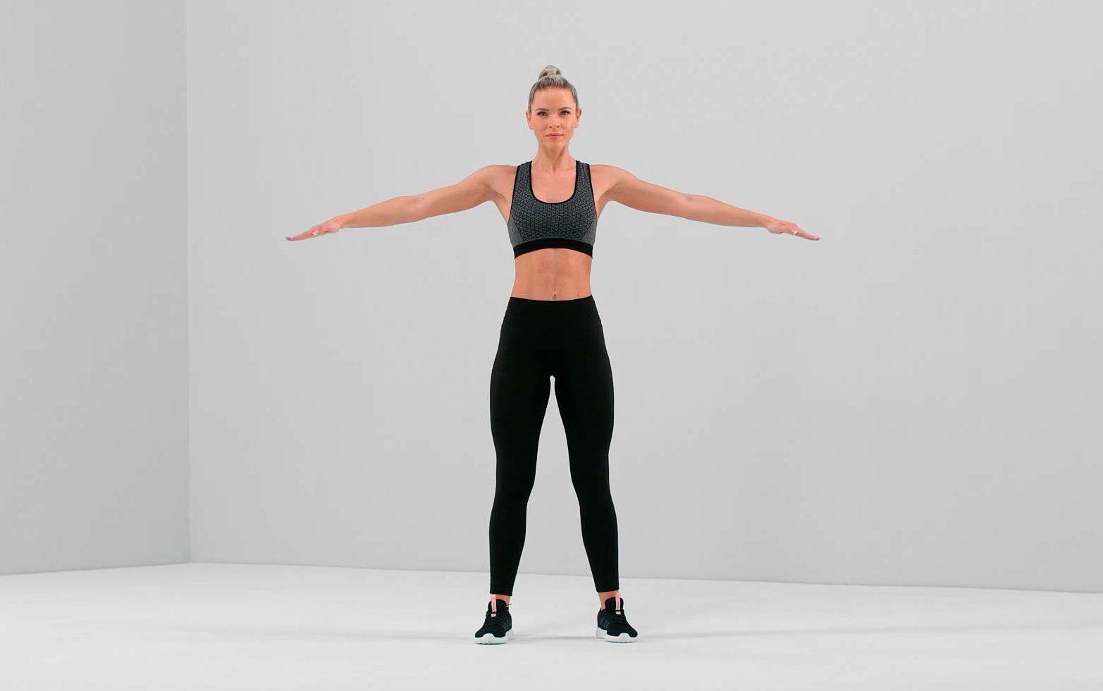 arm circle exercise