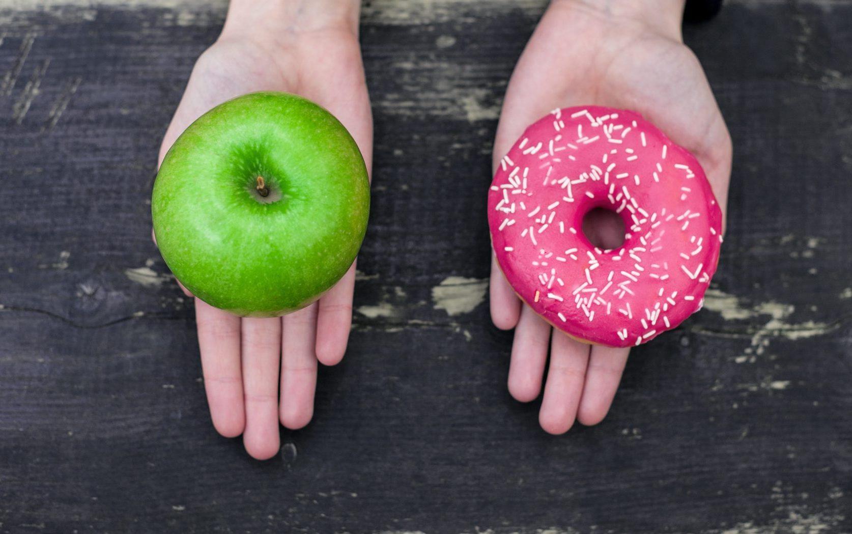 apple vs donut