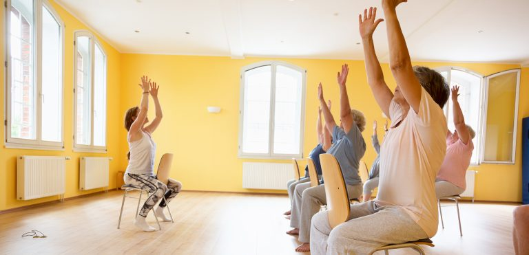 Chair Yoga: 7 Postures You Can Do While Sitting in a Chair