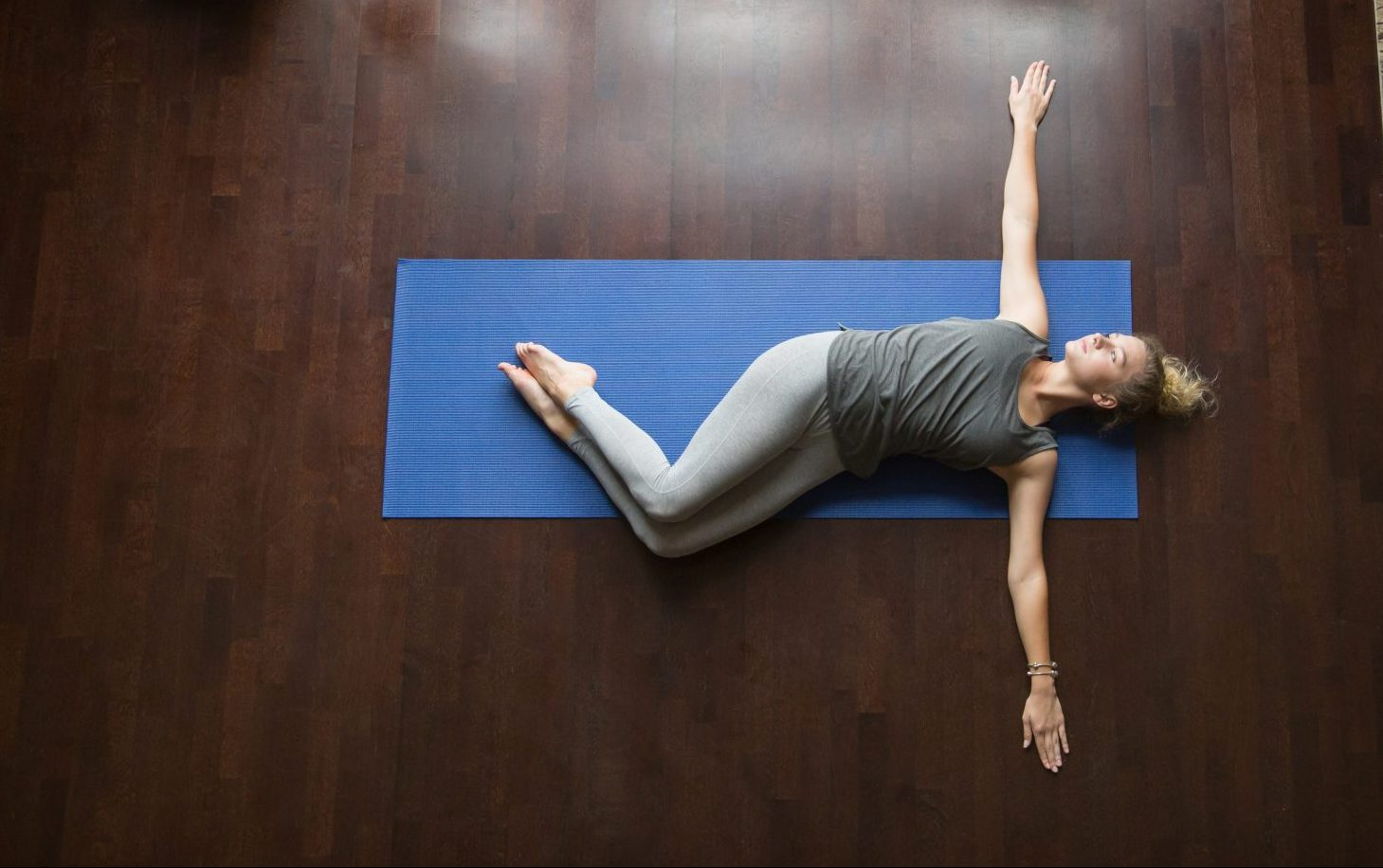 spinal twist pose