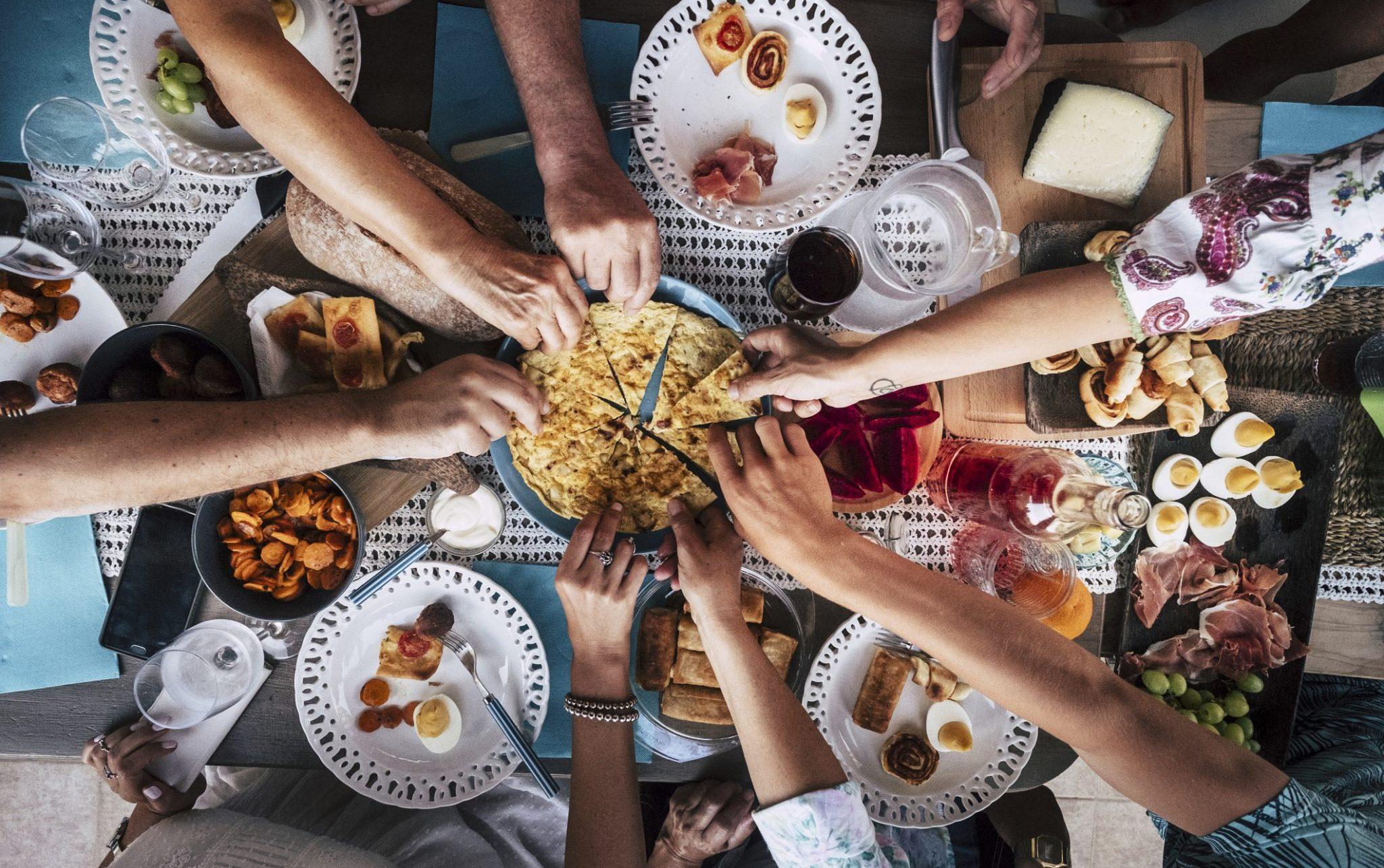 abundance of food