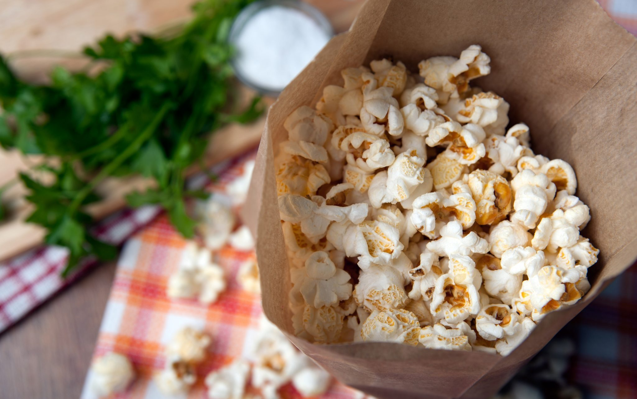 brown bag popcorn