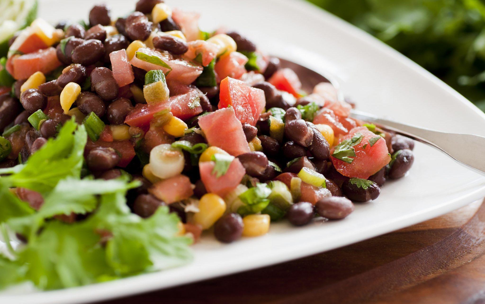 tomato black beans