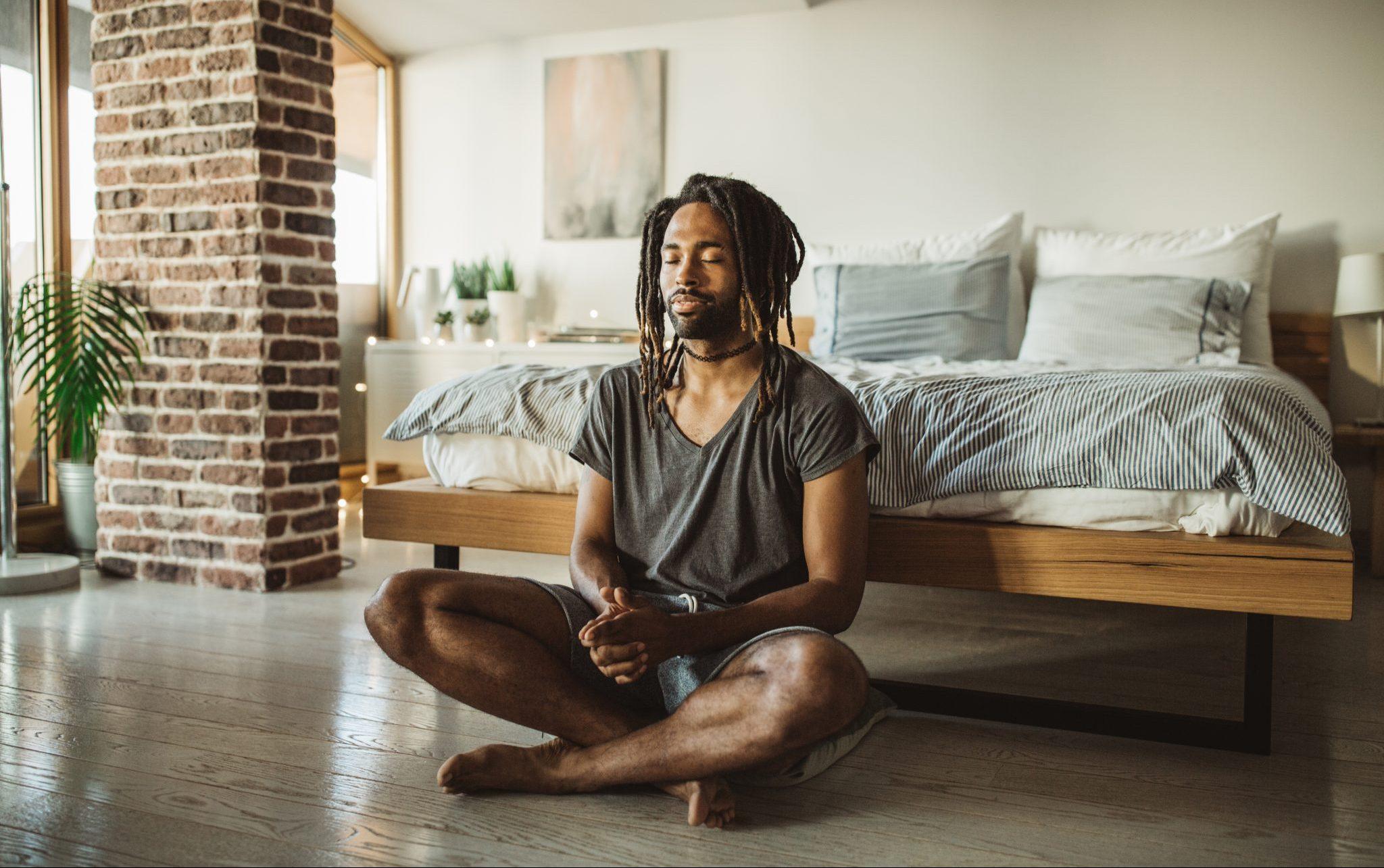 bedroom meditation