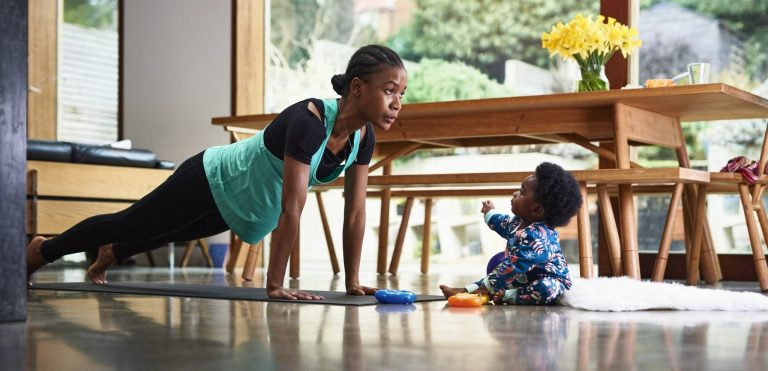 From One New Mom to Another: How to Get a Workout In